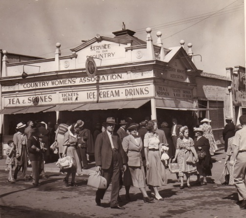The original Show Kiosk at the Royal Easter Show in 1948