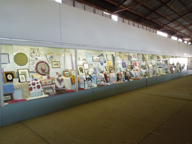 The Handicraft display