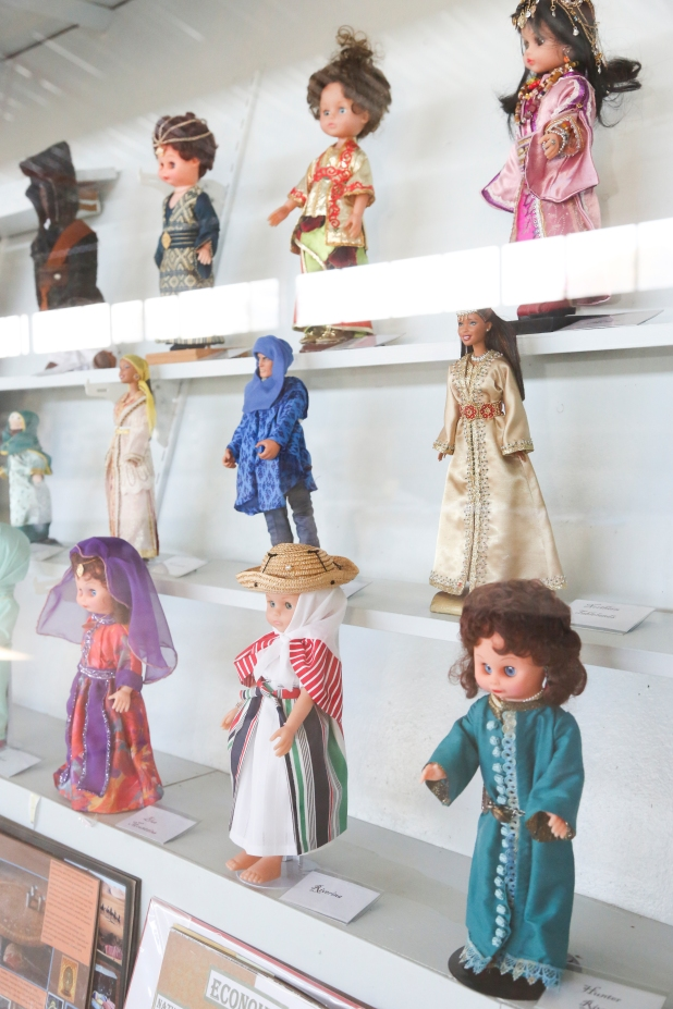 International Dolls on display