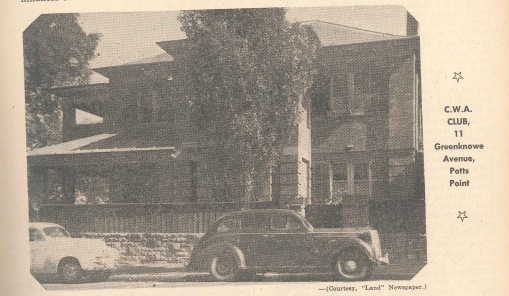 Residential club 1954