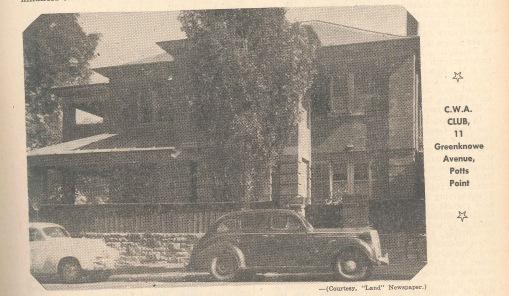 Residential club 1954