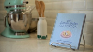 The Doreen Baker Cookbook with gifted mix master.